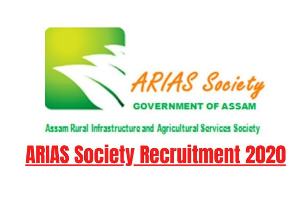 ARIAS Society Assam Recruitment 2020: Apply For Data Analyst, Managers, Specialist Posts (05 nos)
