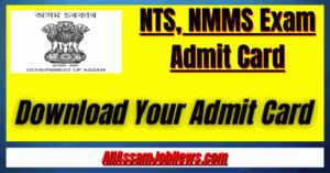 NTS NMMS Exam Admit Card 2020: Download Admit Card NTS/NMMS Exam 2020-21