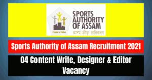 SAA Recruitment 2021: 04 Content Write, Designer & Editor Vacancy